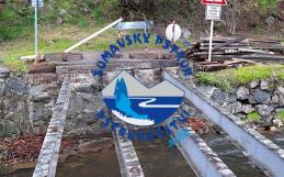 Most a vakuování ryb